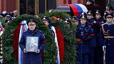 Russia buries cosmonaut Alexei Leonov, first human to walk in space
