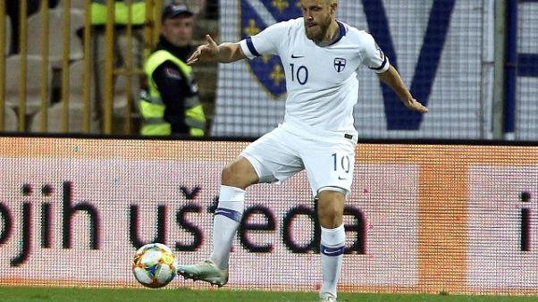 Euro 2020: Finlandia-Armenia 3-0