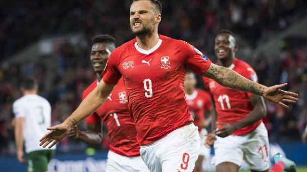 Euro 2020: Svizzera sogna, 2-0 a Irlanda