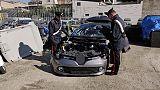 Riciclaggio auto rubate, 17 arresti