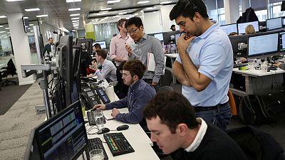 UK stocks ease as market awaits Brexit deal update