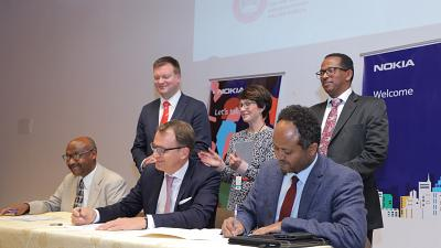 Nokia collaborates with two leading universities in Ethiopia to promote digital skills and innovation
