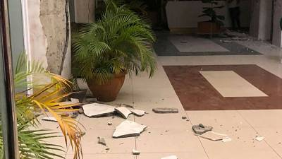 Strong quake in Philippines kills one, injures dozens