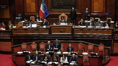 Senato:ok risoluzione maggioranza,150 sì