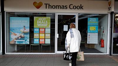 Thomas Cook Germany withdraws bridging loan application - liquidator