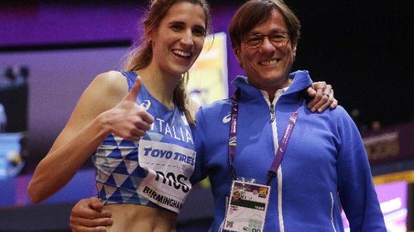 Atletica: Alessia Trost cambia tecnico
