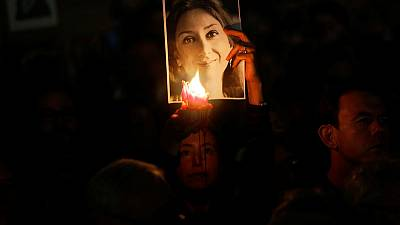 Two years on, mourners seek justice for Maltese anti-graft journalist
