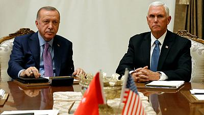 Turkey agrees with U.S. to pause Syria assault while Kurds withdraw