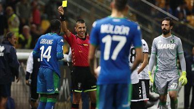 Serie B: arbitri