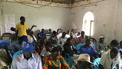 Teachers in Bentiu get Skilled in Conflict Resolution and Management