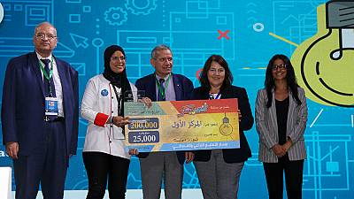 Technical school teams from Ismailia, Sharquia, and Alexandria win top prizes in U.S.-Egypt Entrepreneurship Competition
