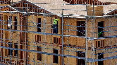 U.S. housing starts fall; mid-Atlantic factory activity slows