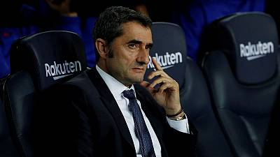 Don't postpone or move Clasico, says Barca's Valverde