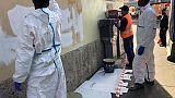Migranti, pulite scritte contro Salvini