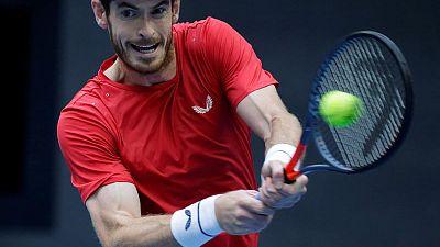 Murray roars past Cuevas into Antwerp quarter-finals