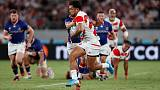 Japan change fullback for South Africa quarter-final