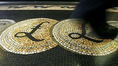 Sterling slips as investors await Brexit showdown
