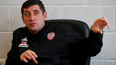 Manager draws on history to put Derry City on road to Europe