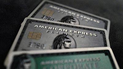 American Express quarterly profit rises 6% on higher consumer spending