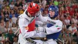 Taekwondo: Dell'Aquila perde con Jang