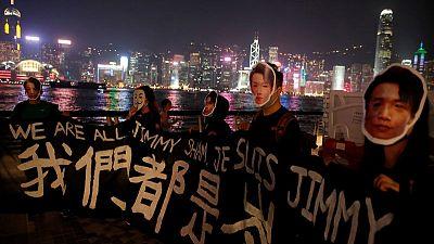 Hong Kong protest leaders urge turnout for march, despite risk of arrest