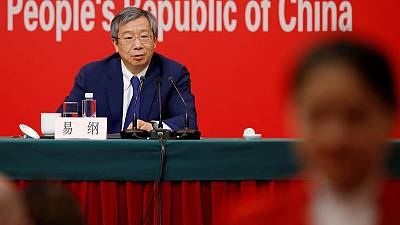 China central bank says will continue to implement prudent monetary policies