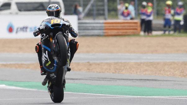 Gp Giappone: pole di Marini in Moto2