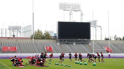 Japan prepared for physical battle against Springboks