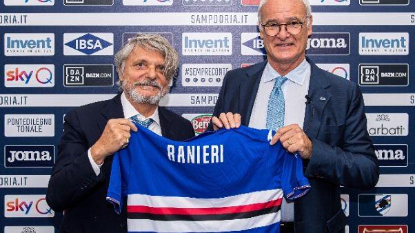 Samp: Ranieri, a sbaglio segua reazione