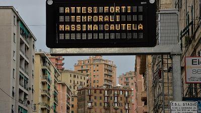 Allerta meteo, resta in dubbio Samp-Roma