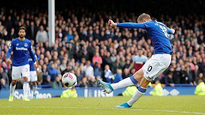 Everton beat West Ham to end losing run