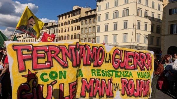 Siria, 2mila in corteo a Firenze