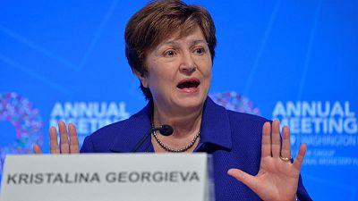 IMF's Georgieva seeks 'peer pressure' on countries to abide by global trade rules