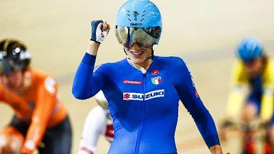 Ciclismo: Confalonieri vince oro a punti