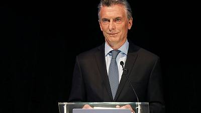 Argentina's Macri appeals to 'angry' voters at massive Buenos Aires rally