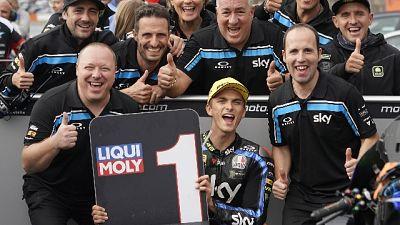 Moto2:Giappone,vince Marini con Sky team