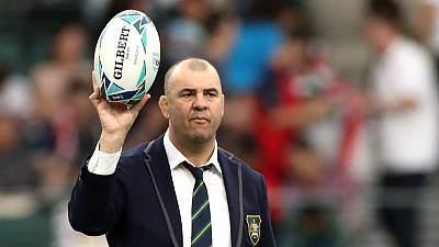 Cheika to stand down as Australia coach after World Cup exit