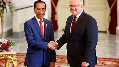 Indonesia's Joko Widodo sworn in for second term as president