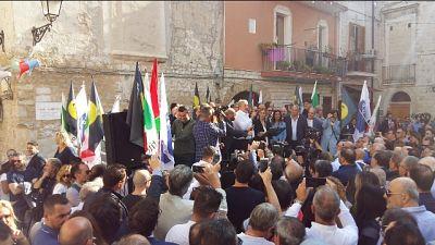 Emiliano a Salvini, qui non avrai pace