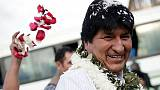 Bolivia's Morales leads election after quick count; second round looks likely