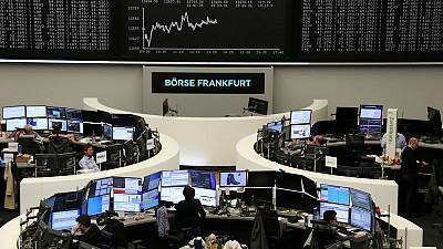 European shares nudge higher as Brexit tussle continues