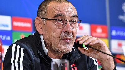 "Juve, Sarri ""Ramsey ancora out"""