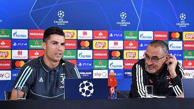 """Sarri """"orgoglioso di allenare Ronaldo"""""""