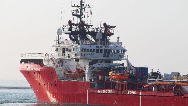 Ocean Viking chiede porto a Italia-Malta