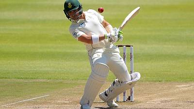 South Africa's Elgar suffers concussion after being struck on head