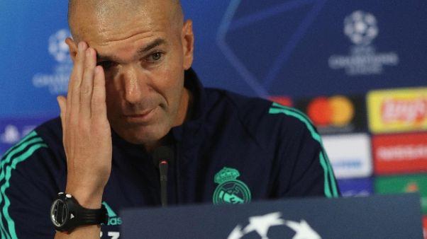 Real Madrid: Zidane, rimarrei qui a vita