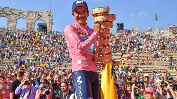 Giro d'Italia con Carapaz e forse Sagan