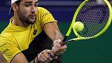 Berrettini sets up second round clash with Dimitrov in Vienna