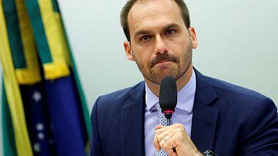 Brazil's Eduardo Bolsonaro takes over as PSL lower house whip