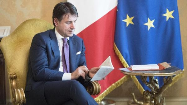 Sisma: Conte, dl segnale a centro Italia